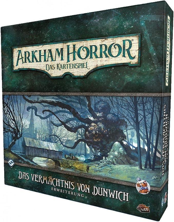 Arkham Horror Kartenspiel LCG Gestaltlos /& Unsichtbar Dunwich-Zyklus 4 Deutsch