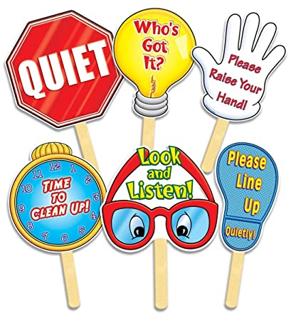 Amazoncom Manage Your Class Signs Themed Classroom Displays And