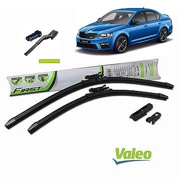 Valeo_group Valeo Juego de 2 escobillas de limpiaparabrisas Especiales para škoda Octavia 600/450 mm: Amazon.es: Coche y moto