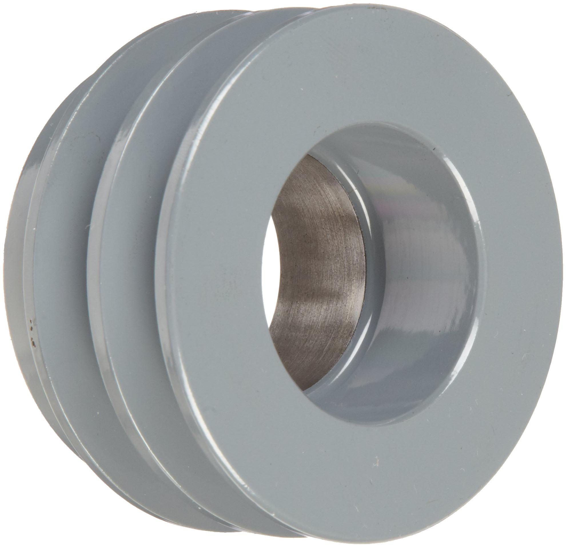TB Woods 2AK32 FHP QT Bushed V-Belt Sheave, A Belt Section, 2 Grooves, QT Bushing required, Cast Iron, 3.25'' OD, 7700 max rpm