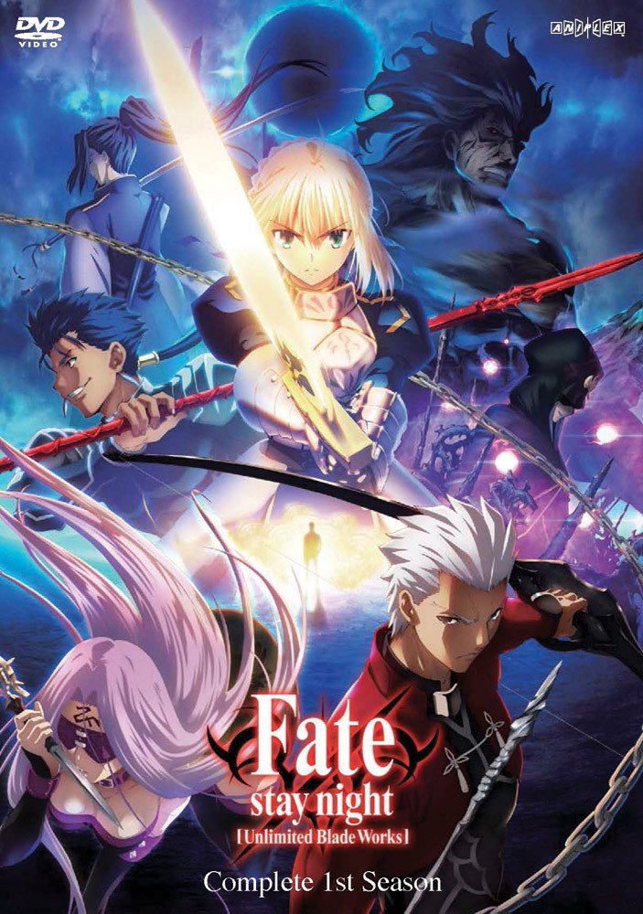 Fate / Stay Night Unlimited Blade Works TV Series Season 1 DVD (Eps #0-12) by Aniplex USA