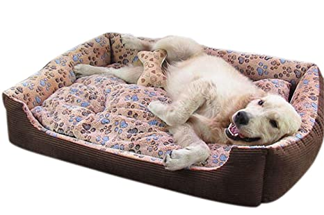 VLUNT cama para perros grandes, suave y acogedor cama para mascotas