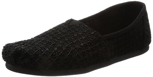 TOMS Crochet Lace Alpargata ESP, Mujer: Amazon.es: Zapatos y complementos