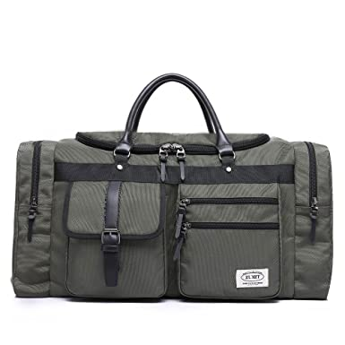 ZUMIT 45L Travel Duffel Bag Mens Womens Large Foldabling Luggage  Water-Resistant Super Lightweight Shoulder ab19d8290b570