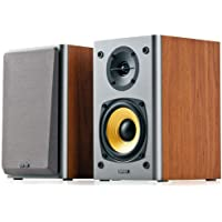 New SPE-R1000T4-BROWN R1000T4-BROWN, EDIFIER R1000T4 Ultra-Stylish Active BOOKSELF Speaker - UNCOMPROMISING Sound…