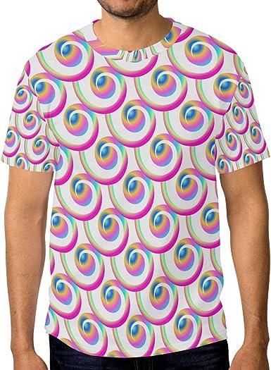 Camiseta de manga corta para hombre, diseño de sirena, color ...