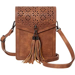 9df9ce4b77d6 MINICAT Fringe Thicher Pocket Small Crossbody Cell Phone Purse Wallet For  Women With Credit Card Slots