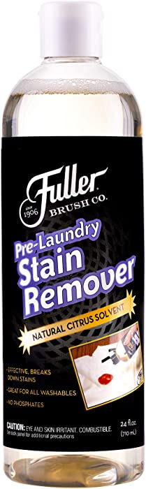 Fuller Brush Pre-Laundry Stain Remover - Color Safe Pre Wash Fabric Treatment for Quick & Easy Dirt Spot Removal - Cleans Rust, Grease, Ink, Coffee & Oil On Clothes & Sheets
