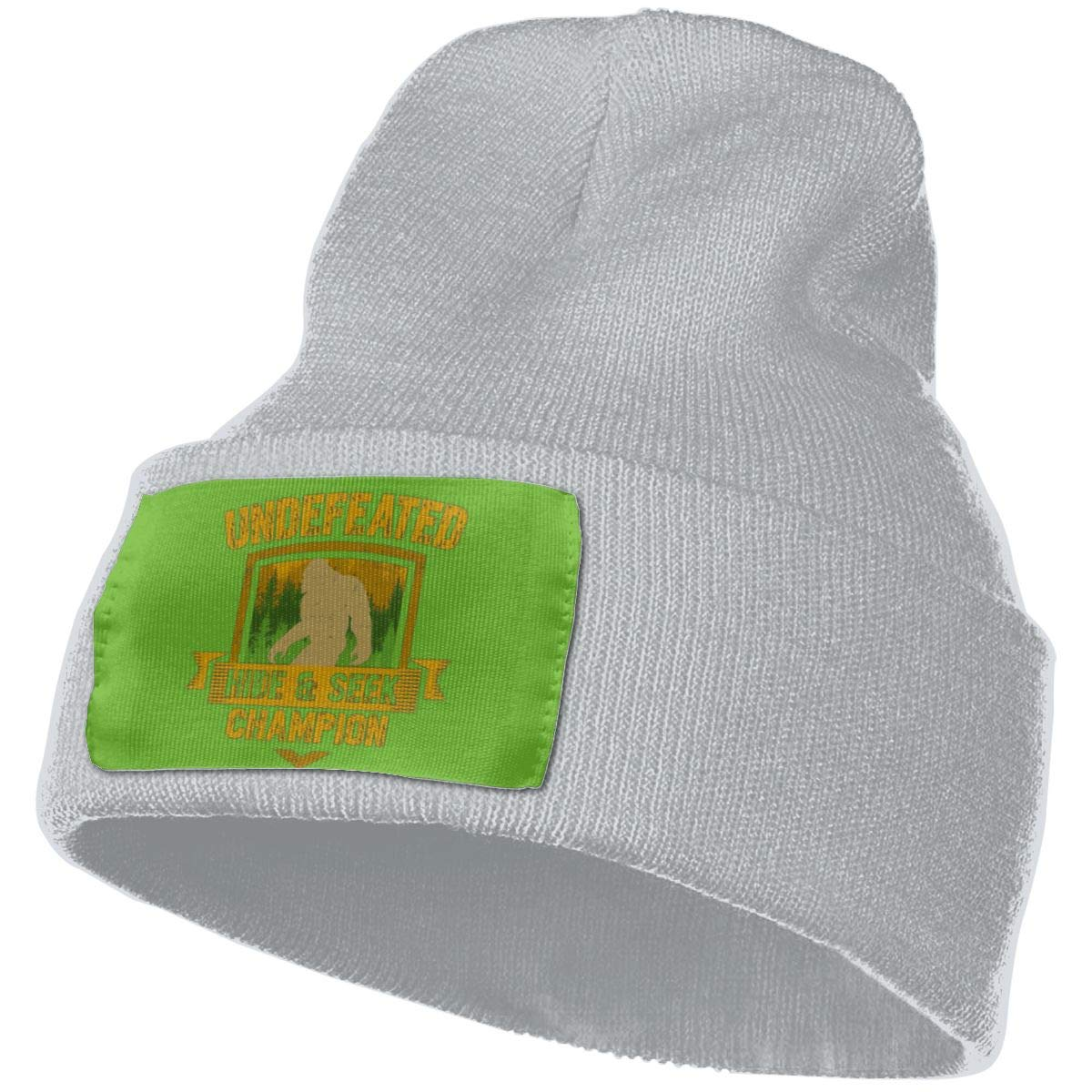 Undefeated Hide and Seek Champion Bigfoot 2 Wool Cap Skull Hat Unisex Winter