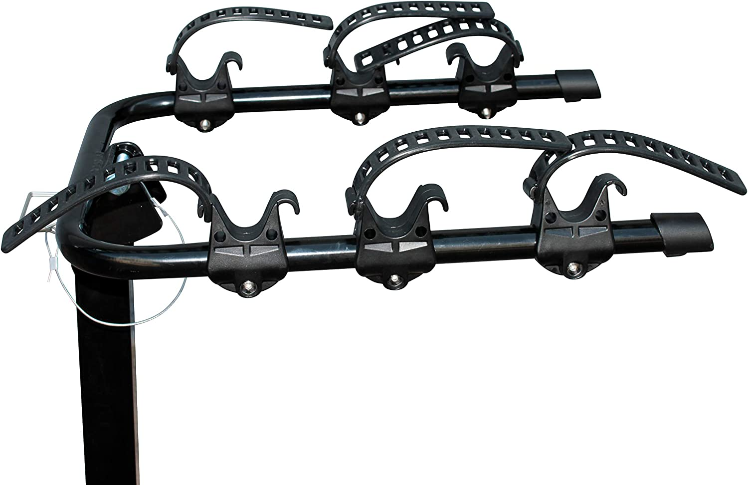 Useful Car or Truck Hitch Mount Bike Rack for Easy Transport of Up to Three Bicycles Hitch Mounted Bicycle Carrier