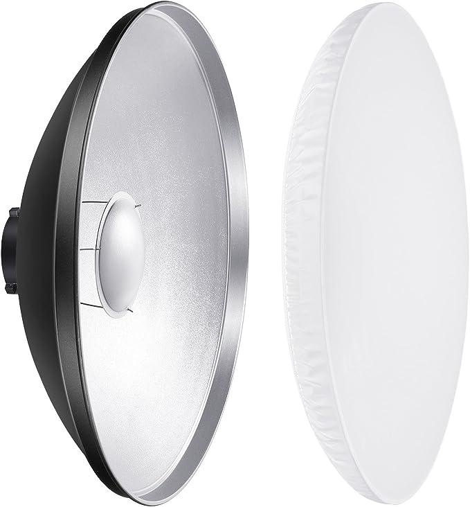 Neewer 41 Cm Aluminium Standard Reflector With White Camera Photo