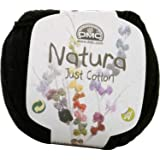 DMC Natura Yarn, 100% Cotton, NOIR N11
