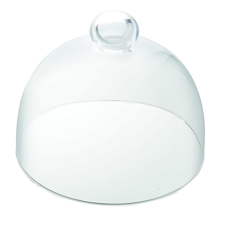Vidivi Vetri delle Venezie 67270San Marco Banquet, Campana de Cristal Transparente de 16cm. de diámetro