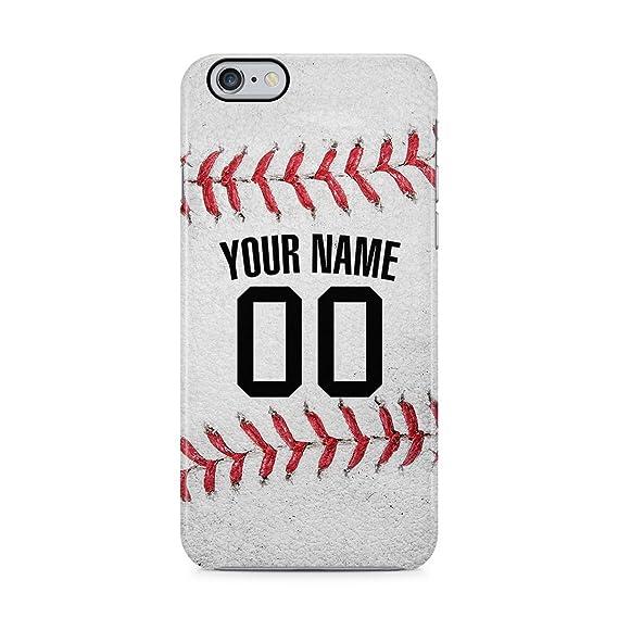 the best attitude df7ed 99c2c Amazon.com: Baseball Personalised Customizable Custom Name Initial ...
