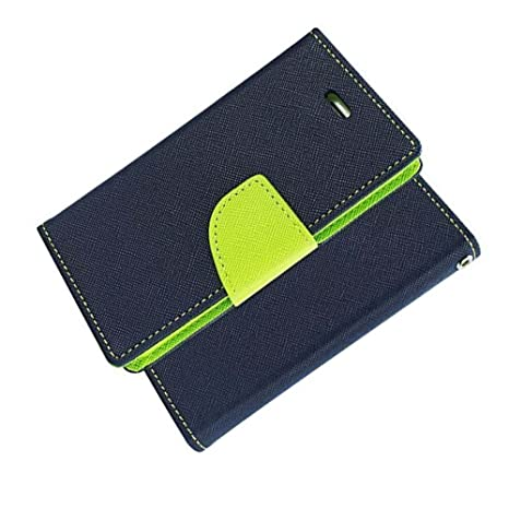 promo code 77839 6e026 ORC - Oppo A83 Flip Cover - Luxury Mercury Diary Wallet Style, Flip Cover  for Oppo A83 (Blue::Green)