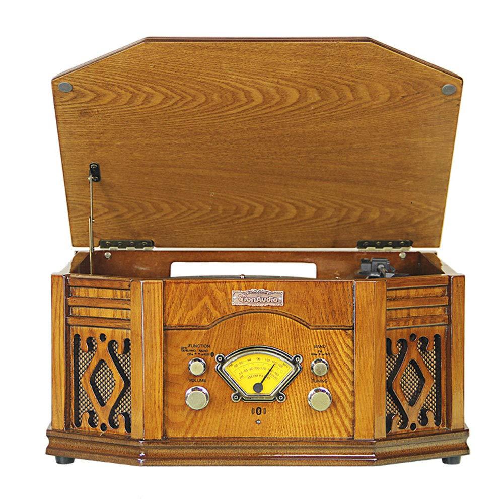 LSL Gramófono, Tocadiscos Grabador de Vinilo 33/45/78 RPM Soporte ...