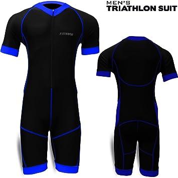 Traje de triatlón para hombre FITNOW, para ciclismo, maratón ...
