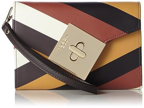 sale retailer bf02a b6494 Tosca Blu - Portafoglio Donna, Multicolore (DARK BROWN ...