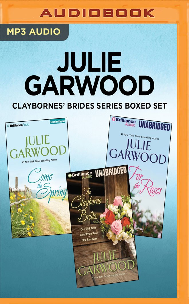 Julie Garwood Claybornes Brides Series Boxed Set For The Roses