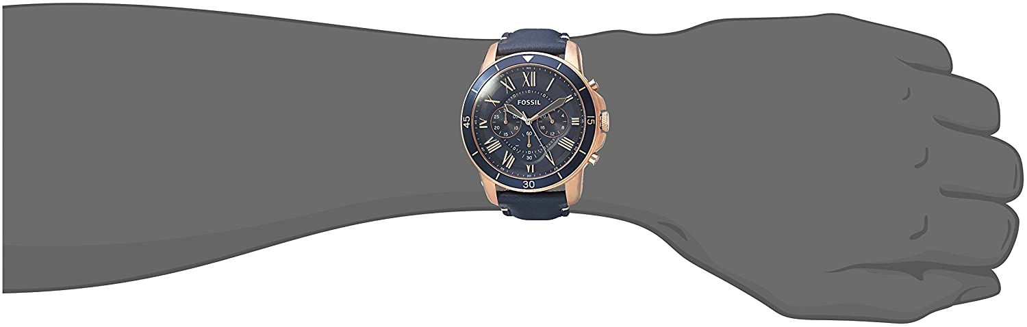 70547275a Buy Fossil Analog Blue Dial Men's Watch - FS5237 Online at Low Prices in  India - Amazon.in