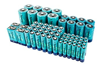 Amazon.com: Tenergy NiMH rechargeable 68-cell Batería de ...