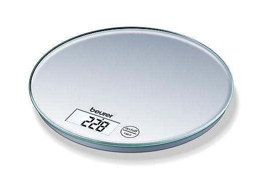 Beurer Ks 28 Kuchenwaage Glas Silber Amazon De Kuche Haushalt