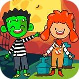coolest shower head ever My Pretend Halloween - Trick or Treat Haunted Town & Kids Best Friends Halloween Games