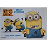 Despicable Me 2 Giant Coloring and Activity Book