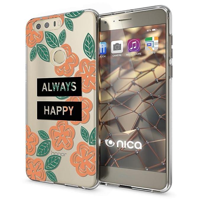 6 opinioni per NALIA Cover Custodia compatibile con Huawei Honor 8, Protezione Silicone