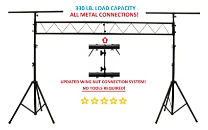 CEDARSLINK LK X10 10 METAL PARTS DJ PORTABLE LIGHT LIGHTING T BAR STAND TRUSS