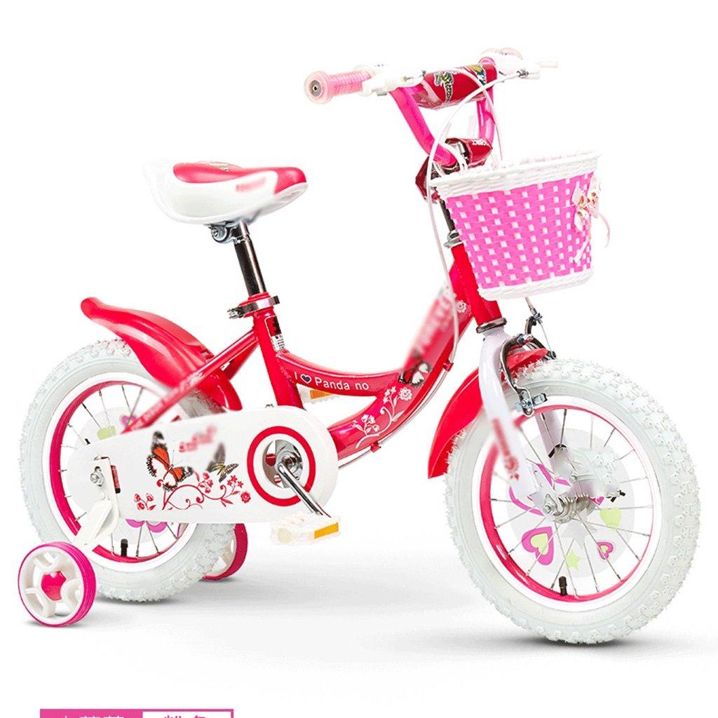 自転車 子供の自転車の女の子2-3-4-6-7-8-9-10歳の赤ちゃんのペダル自転車の子供の赤ちゃんのキャリッジ (サイズ さいず : 16 inch) B07DYL6V7M16 inch