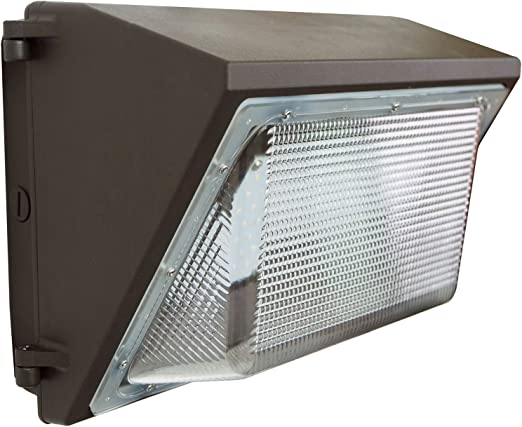 4,800LM Waterproof LED Wall Pack Light Commercial Outdoor Building Mounted 45W