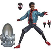 """Marvel - Legends Series - Spider-Man: Into The Spider-Verse - 6"""" Miles Morales Collectible Action Figure and 3…"""