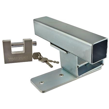 Garage Door Lock Defender Motor Bike Car Stop Bar Up And Over