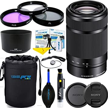 NUOVO Sony E 55-210mm F4.5-6.3 OSS E-mount Lens SEL55210 Black