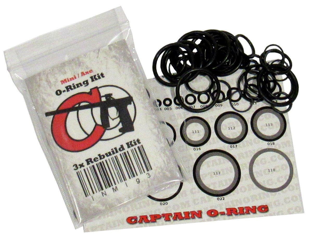 Captain O-Ring LLC Invert Mini/Empire Axe - 3x Oring Rebuild Kit by Captain O-Ring LLC