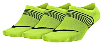 Nike Lightweight Training Socks, Calcetines para mujer, pack de 3 unidades, Multicolor (