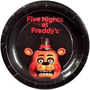 Forum Novelties Five Nights at Freddy's Dessert Plates (8)