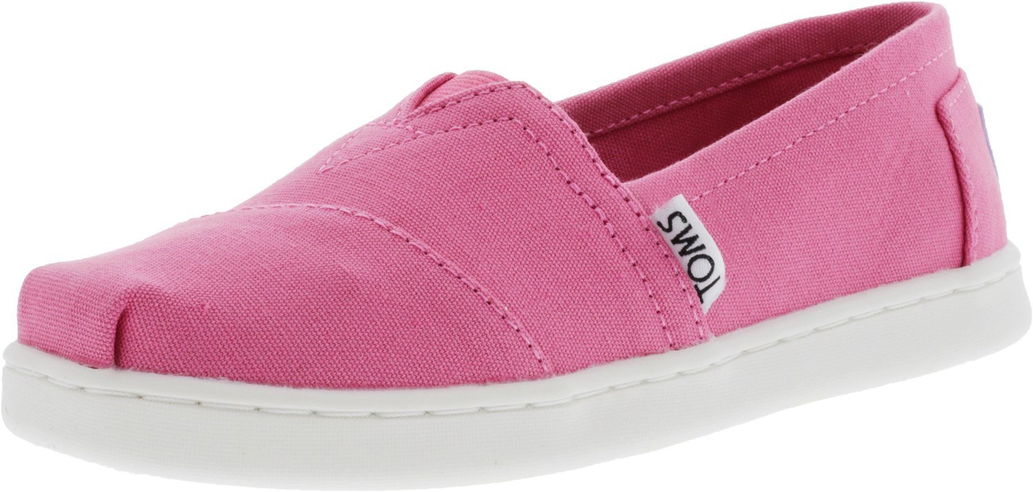 TOMS Girls' 10009919 Alpargata-K, Pink, 3 M US Little Kid