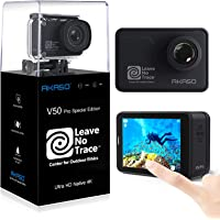 AKASO V50 Pro Leave No Trace Special Edition Action Camera Touch Screen 4K60 Waterproof Camera Features EIS and Wi-Fi…