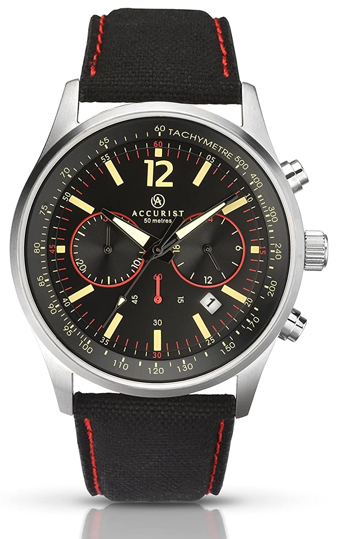 Accurist Herren-Armbanduhr Unisex 7068.01 Chronograph Quarz 7068.01