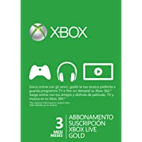 Xbox Live - Gold Card 3 Mesi