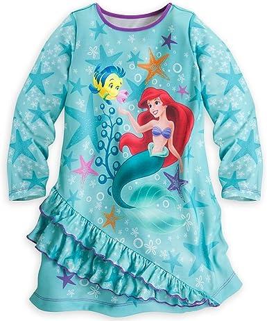 Size 8! Disney/'s Little Mermaid Girl/'s Night Gown