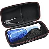 HESPLUS Hard EVA Travel Case For Waterpik Waterflosser Cordless PLUS Professional Water Flosser Nano Sonic Toothbrush WP-450 WP-440 WP-560 WP-565W/WP-565C