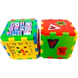 Toyshine Educational All in One Blocks Set - Set of 2