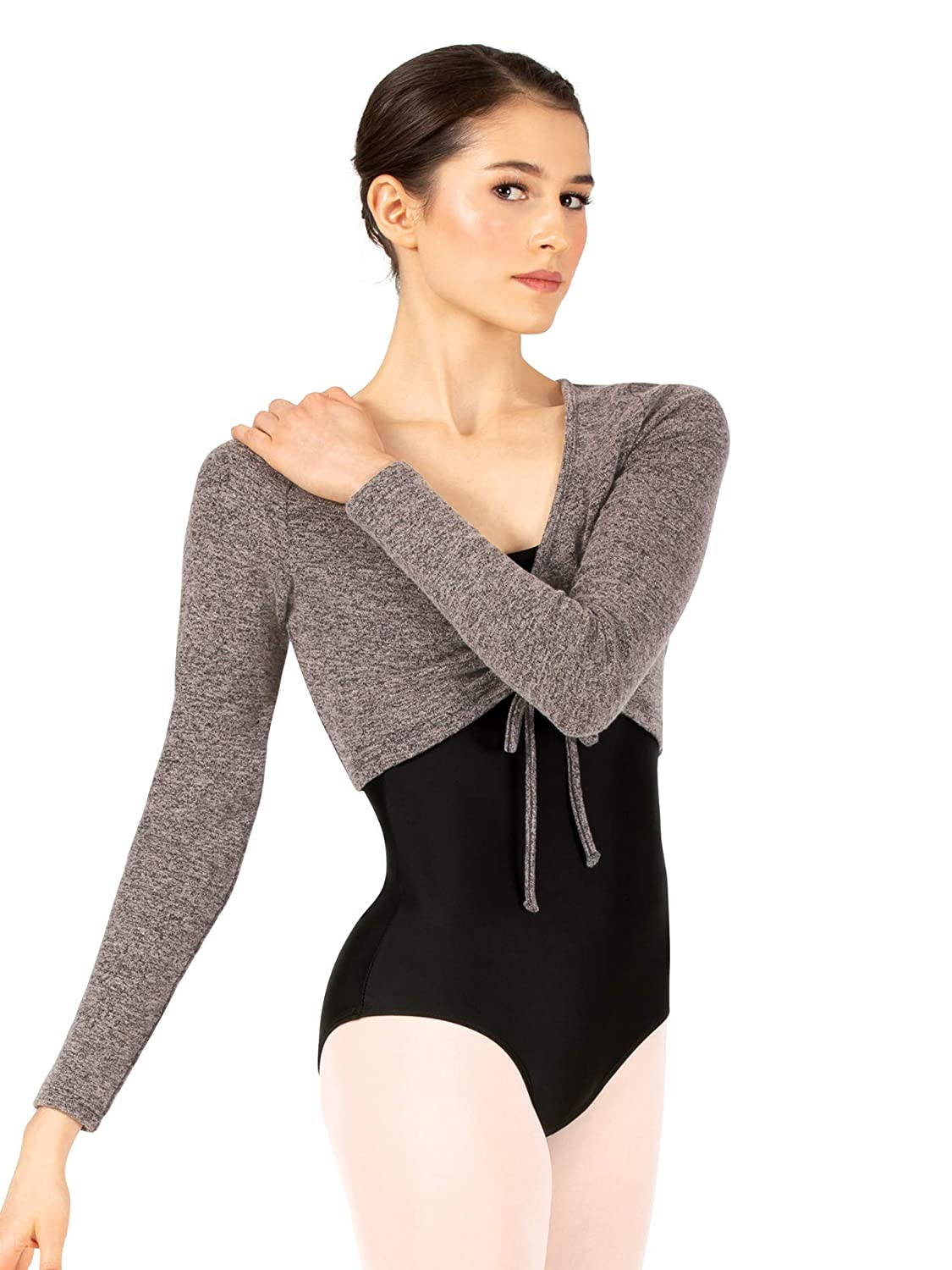 Womens Cinch Front Warm Up Shrug DS5278
