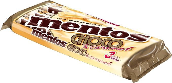 Pastillas De Chocolate Y Caramelo | Mentos | Rollitos De Choco Y ...