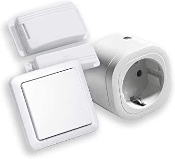 Intertechno IT-3000 - Control de salida de aire inalámbrico (3000 W, incluye enchufe de alimentación por radio, interruptor ITM-100, para campana extractora, chimenea, horno), 230.00V: Amazon.es: Bricolaje y herramientas