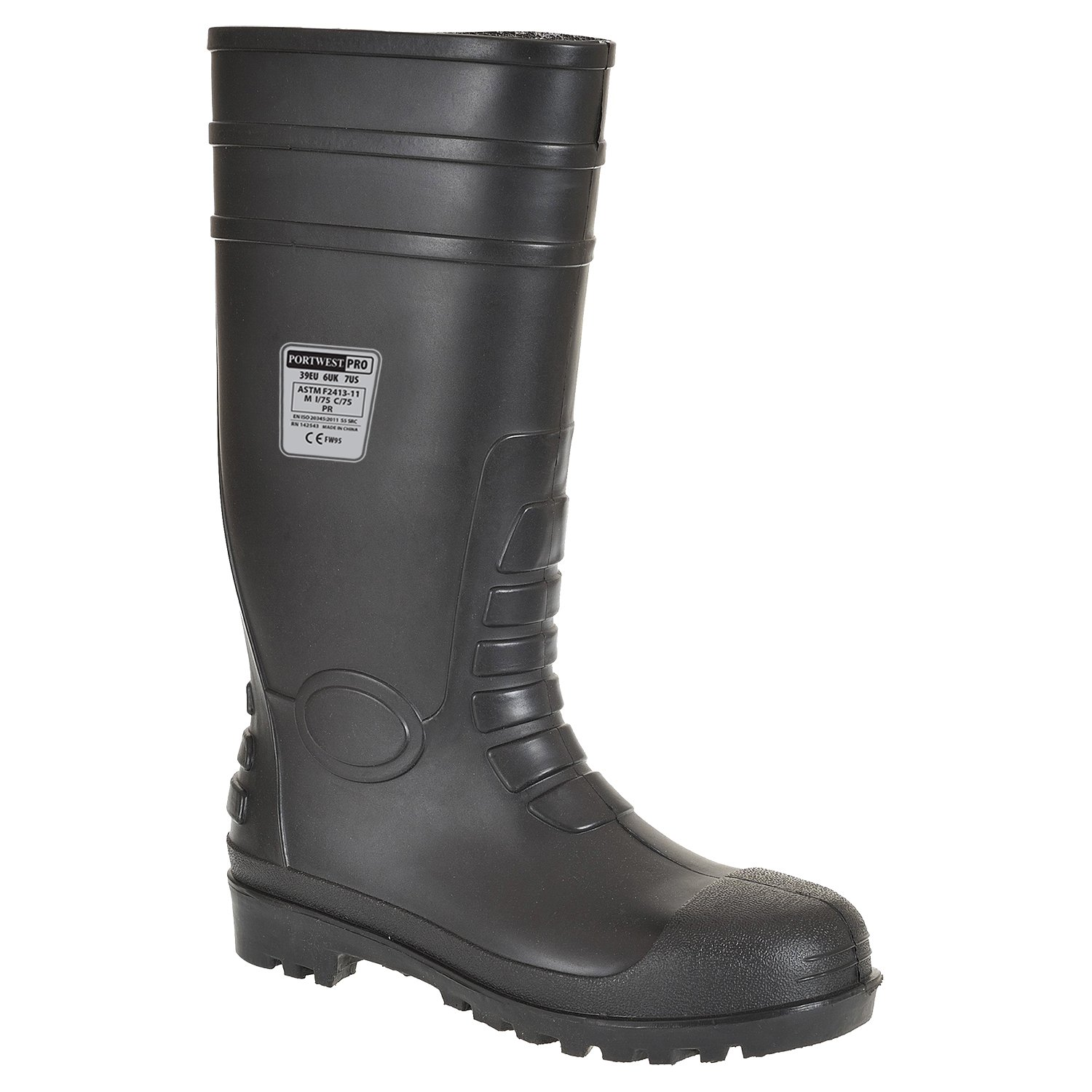 Portwest Steelite Total Safety Wellington S5 - zapatos de seguridad para hombre FW95
