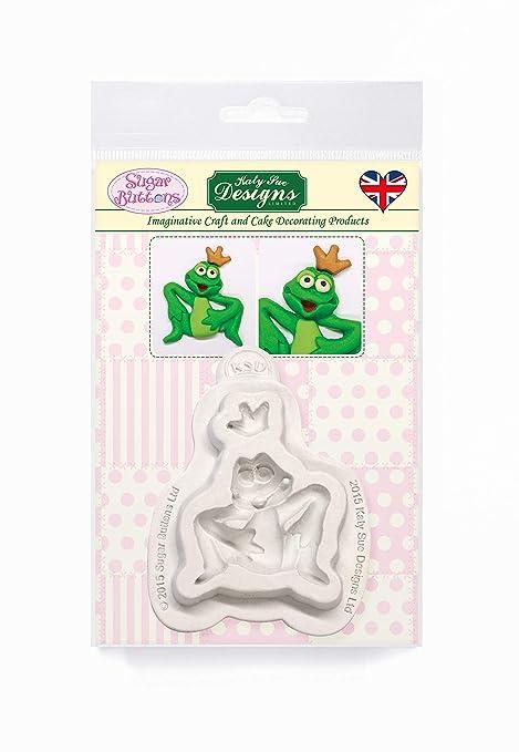 Principe Ranocchio zucchero pulsanti mould- Stampo in silicone per  decorazione torte 4fabd9a2a011